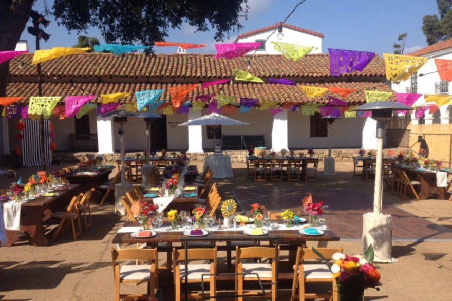 casa de la guerra santa barbara california event and wedding locations santa