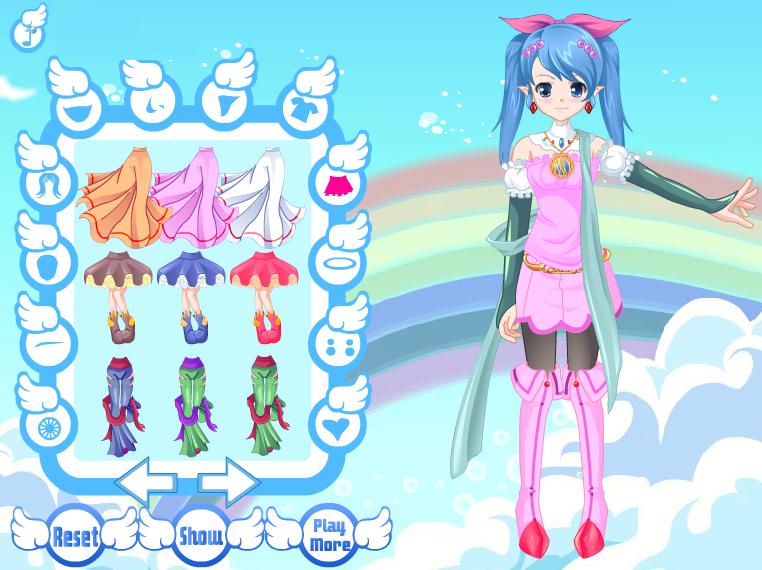 Design Angel Avatar Anime Dress up Games Dressup24h