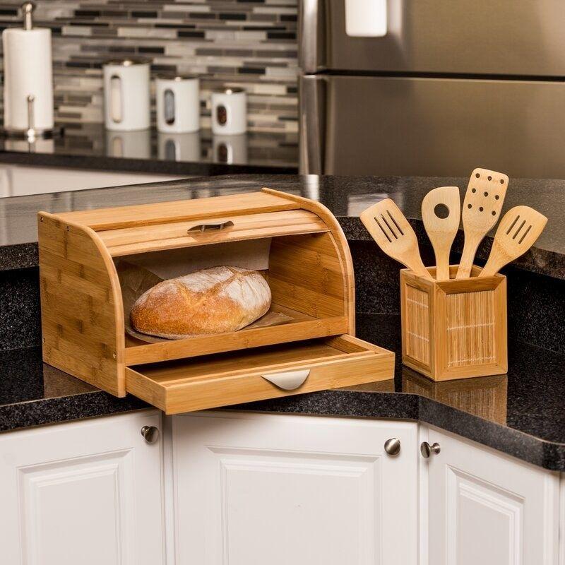 farmhouse bread box tractor supply