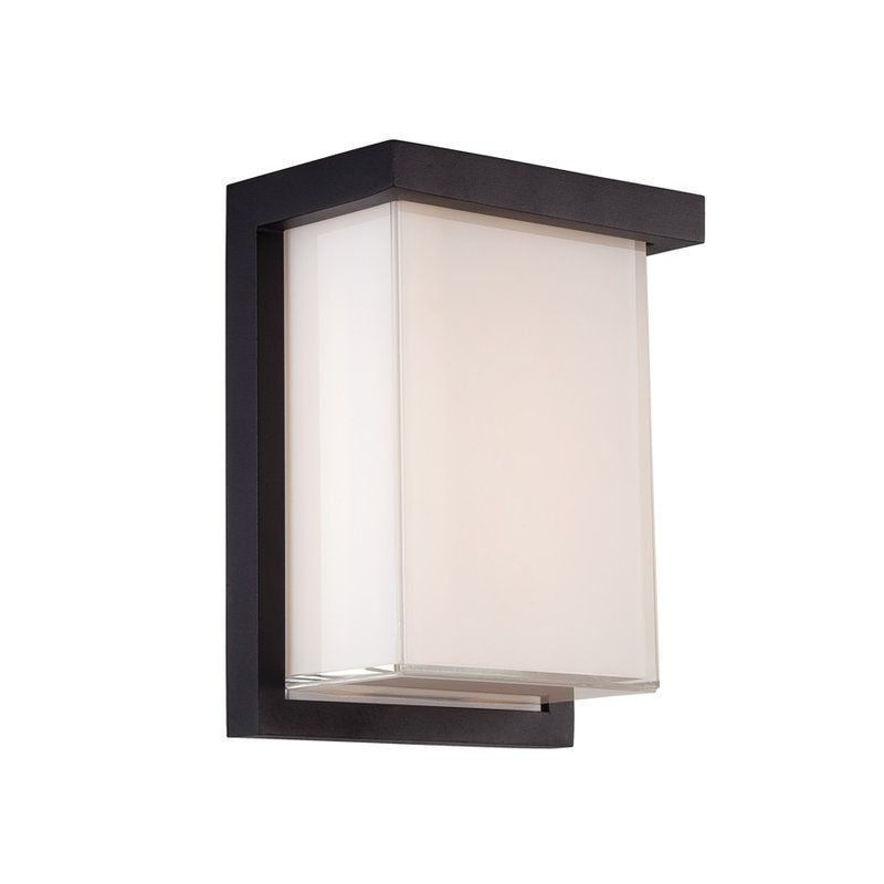 Modern Forms Ws W1408 Black Outdoor Wall Lights Outdoor Wall Lighting Led Outdoor Wall Lights