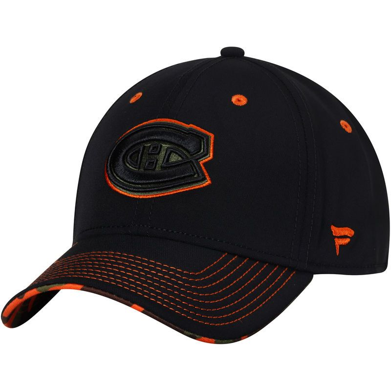 competitive price f9938 f16c0 Montreal Canadiens Fanatics Branded Recon Flex Hat - Black