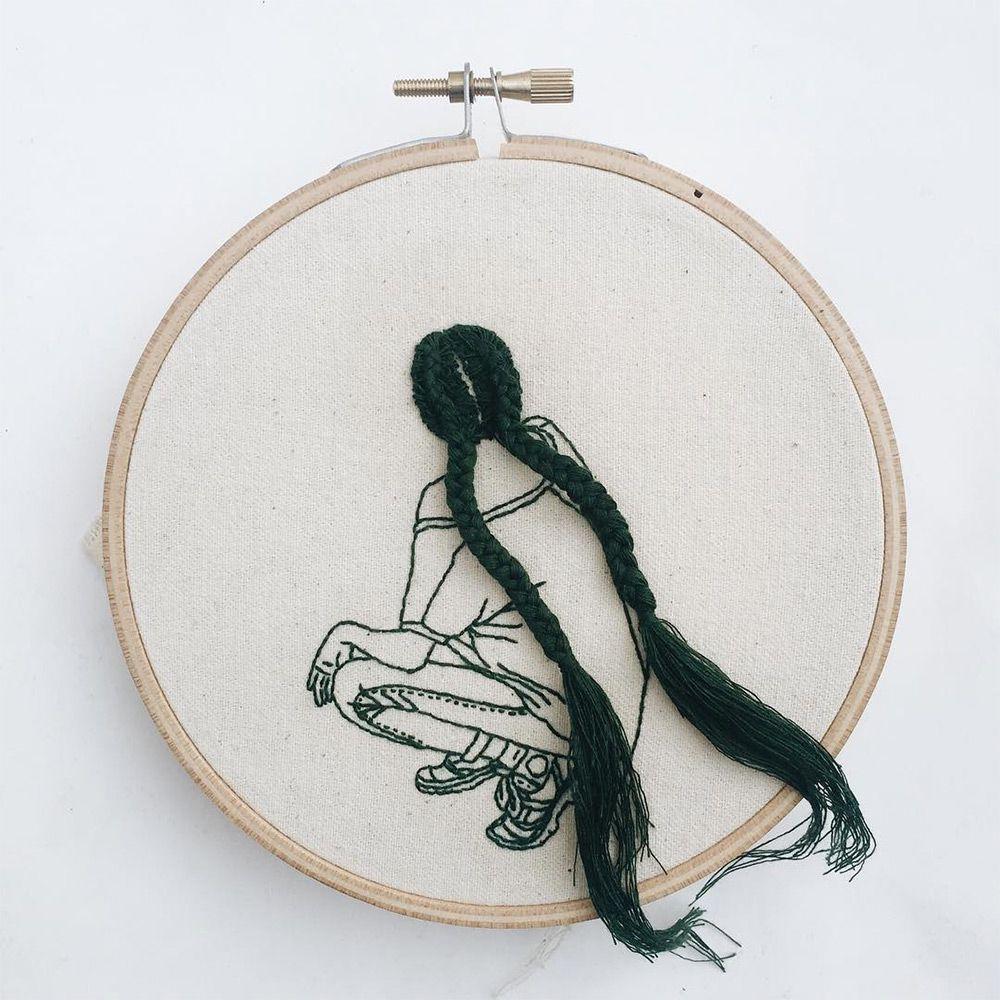 As meninas bordadas de Sheena Liam   Embroidery   Pinterest ...
