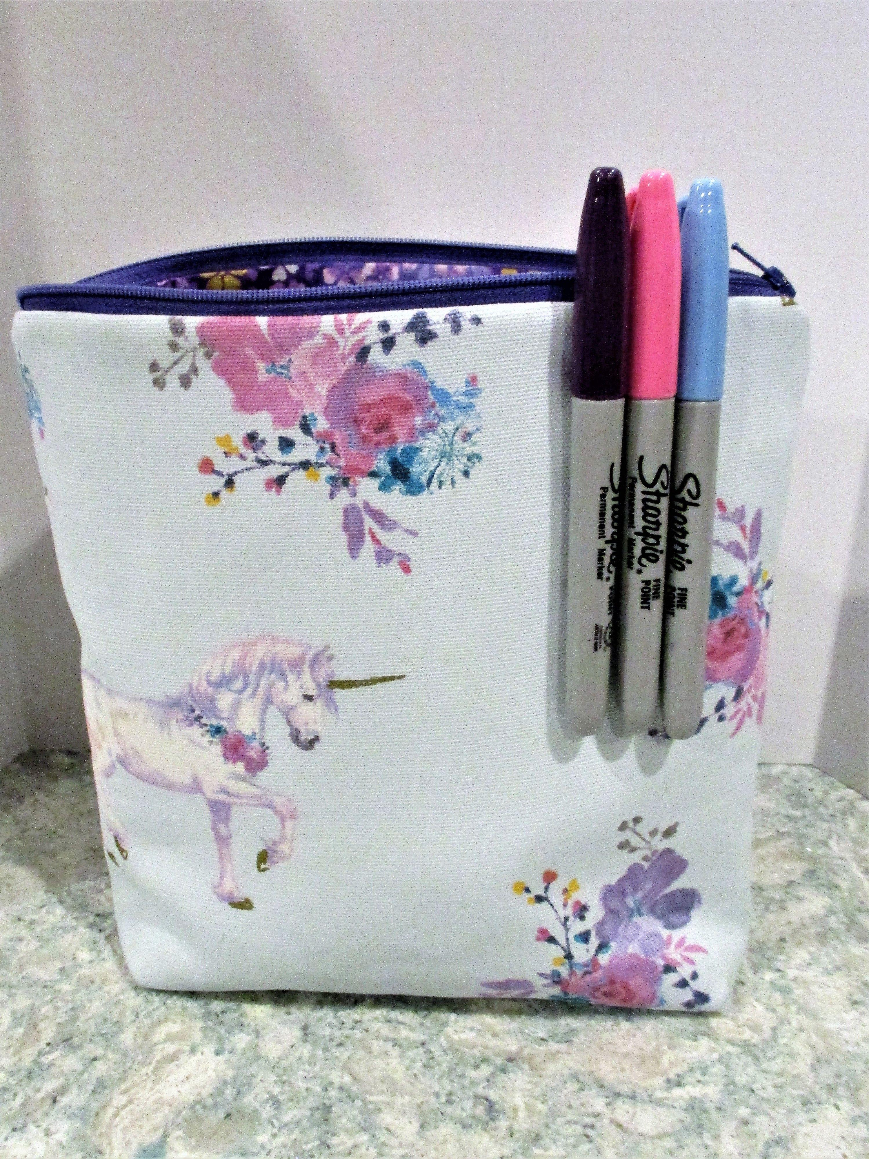 unicorns makeupgeek Unique items products, Makeup bag