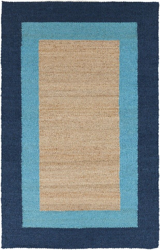 Surya MIM9002 Mimosa Natural Fibers Blue   All Rugs   Rugs | Furniture, Home  Decor