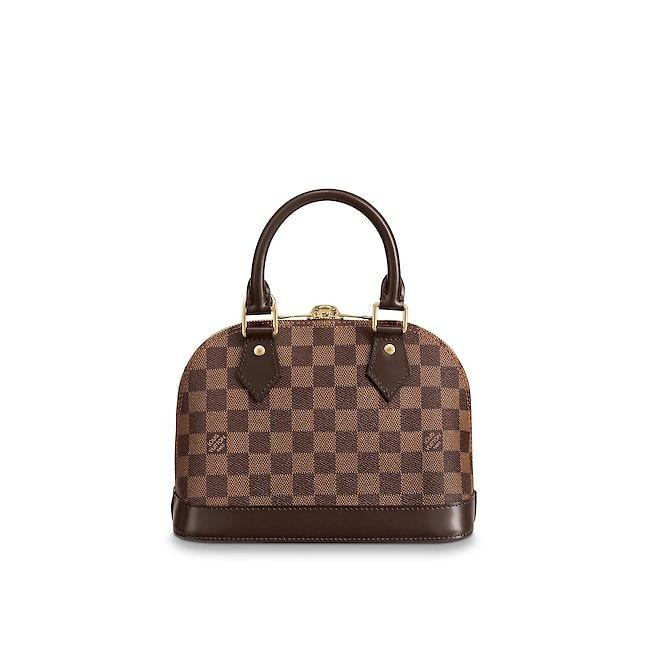 88e9f0fde0a8 View 5 - Alma BB Damier Ebene Canvas in Women s Handbags Top Handles  collections by Louis Vuitton