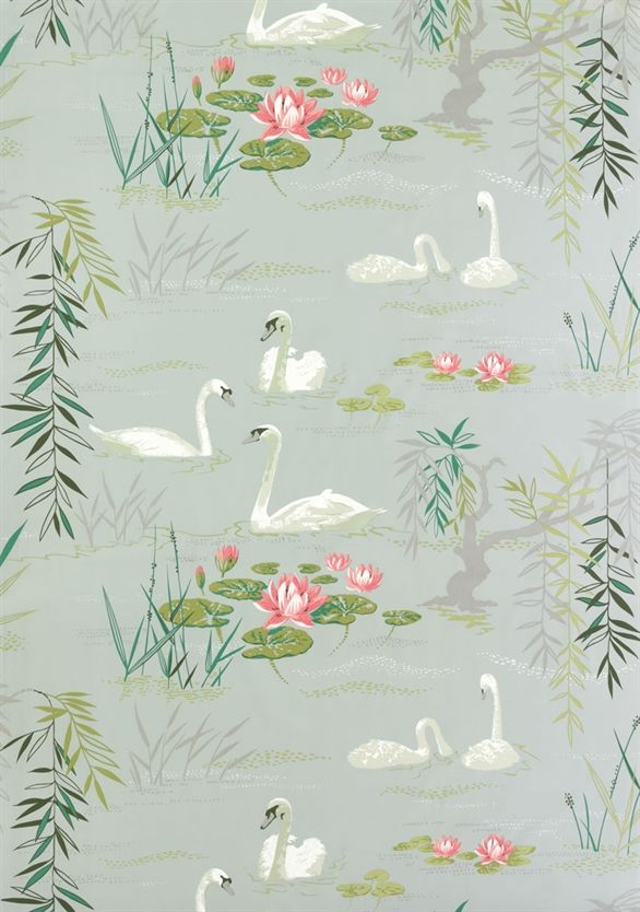 Swan Lake Osborne Little Ncf3910 01 Pattern And Color