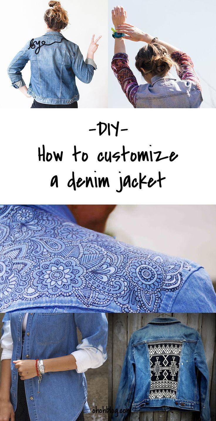 Diy To Try Customized Denim Jackets Music Festival Fashion