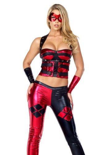 Womenu0027s Dreamy Jester Costume  sc 1 st  Pinterest & Womenu0027s Dreamy Jester Costume | Mix and match Harley Quinn cos play ...