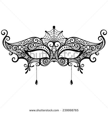 lace masquerade masks templates - Google Search Masquerade