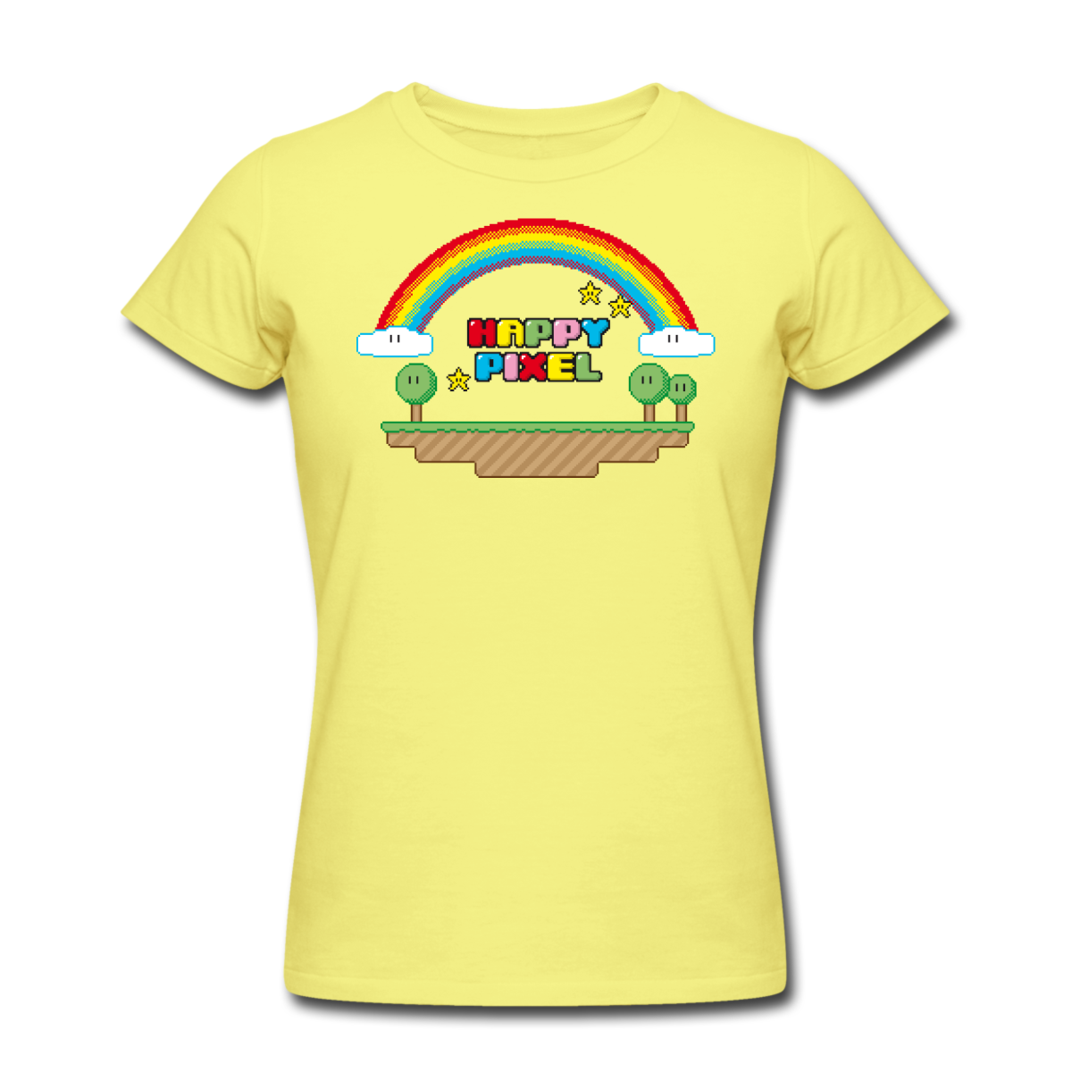 Design your own t shirt american apparel - This Happy Pixel T Shirt Is Printed On A T Shirt And Designed By Available In Many Sizes And Colours Buy Your Own T Shirt With A Happy Pixel Design At