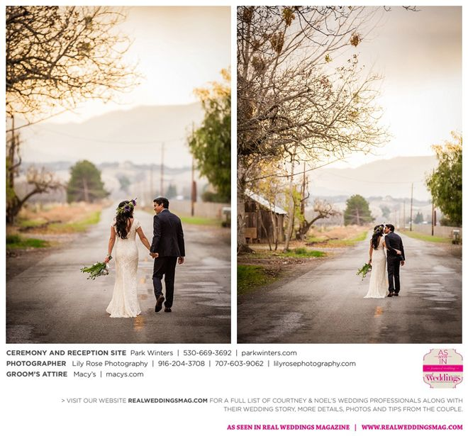 Winters Wedding Inspiration: Courtney & Noel {From The