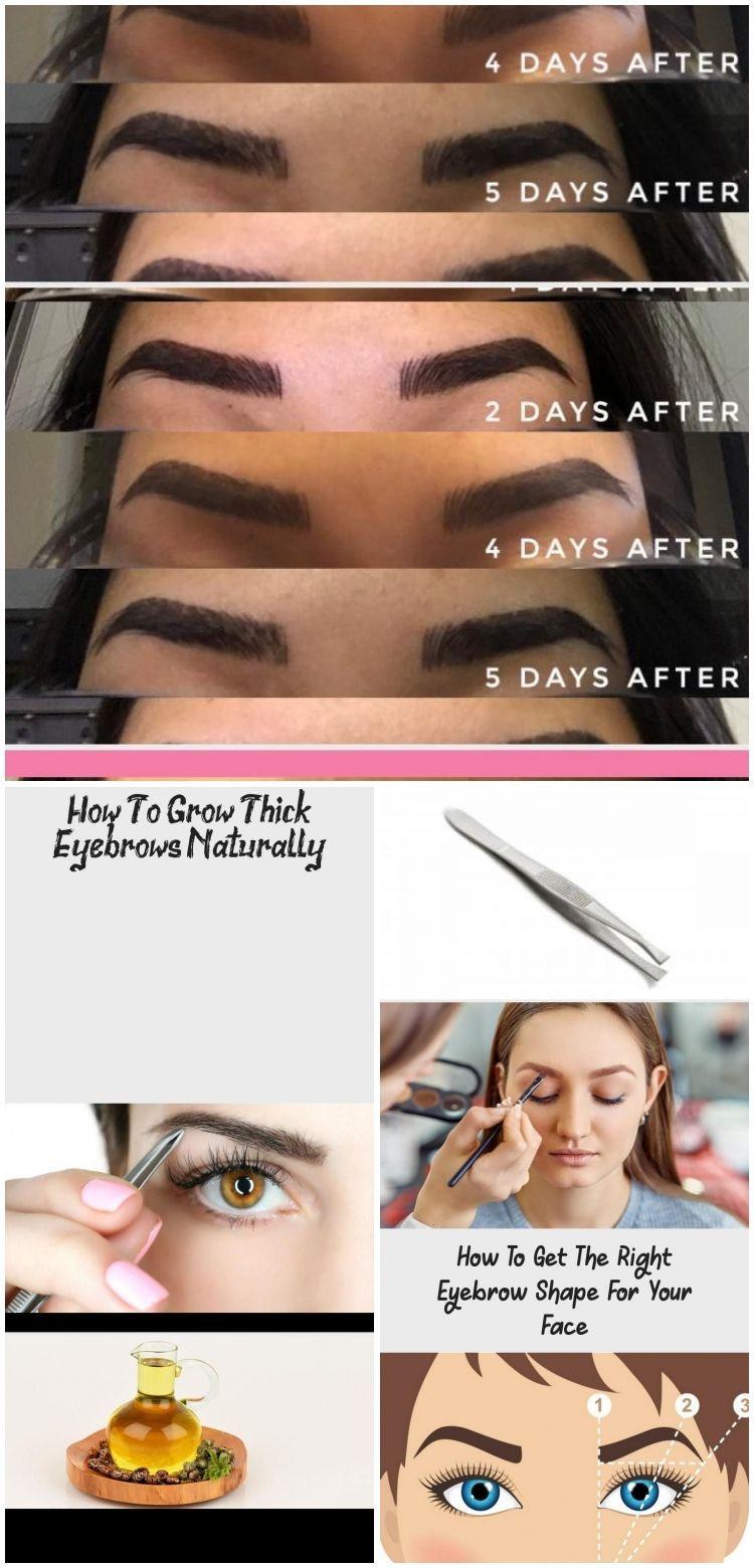 Wie man dicke Augenbrauen natürlich wachsen lässt - Augen Make-up#augen #augenbrauen #dicke #lässt #makeup #man #natürlich #wachsen #wie