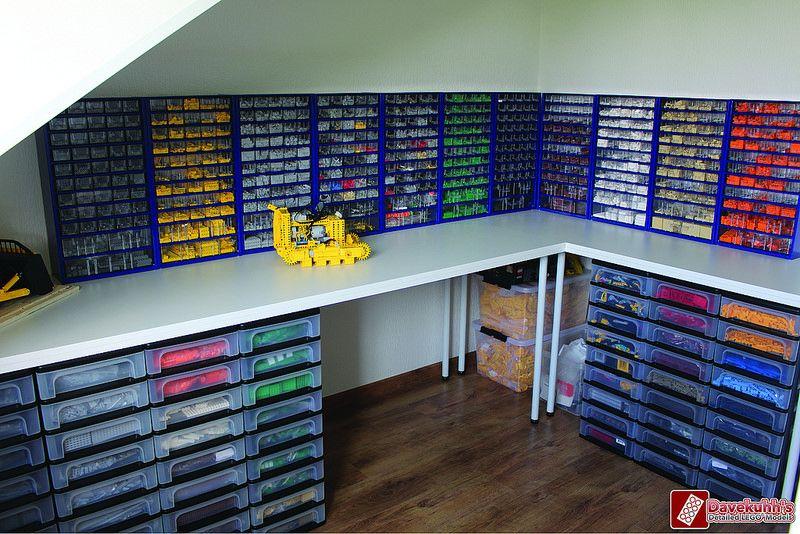 Afbeelding Lego Opslag Opberg Lego