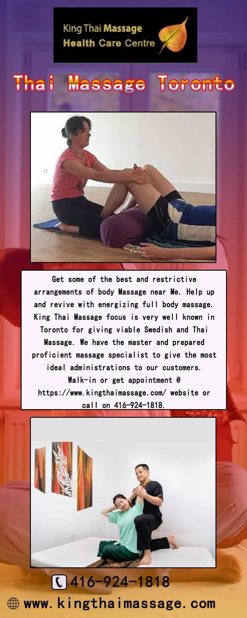 Thai Style Foot Oil Massage Toronto Thai massage
