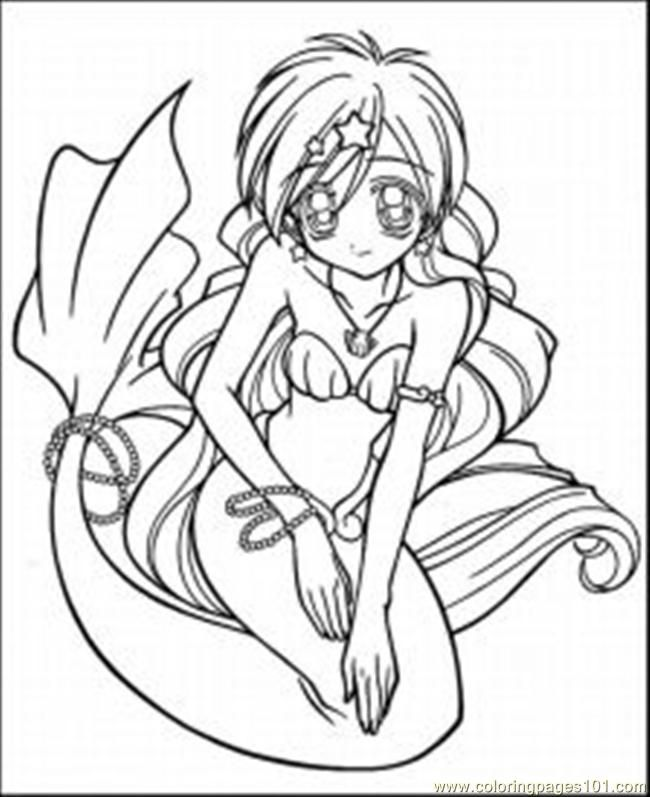 While the target user group is teenage girls, younger children could - best of coloring pages anime girl