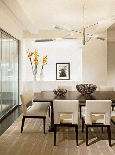 Minimalist In Manhattan Dining Room Inspiration