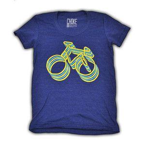 Neon Bikes Women's Tee now featured on Fab.