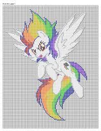 Pixel Art My Little Pony