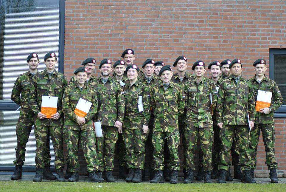 De Eerste Algemene Militaire Opleiding Reservisten Amo R Van 2015