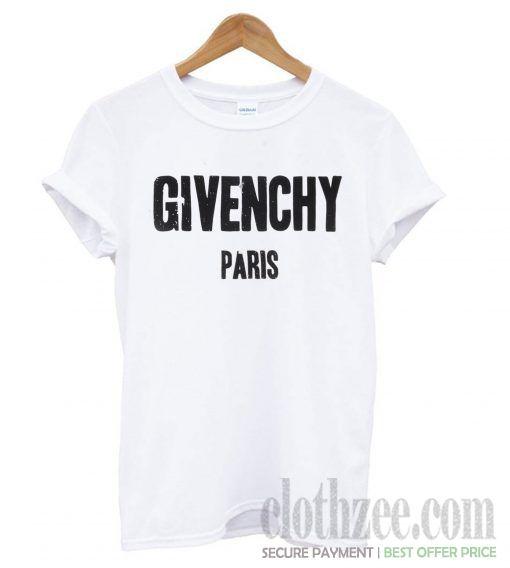 50e0983e9 Givenchy Paris White T shirt #trendingclothes #tees #clothes  #comfortclothes #shirt #hoodie #sweatshirt #tanktop #clothes  #fashion#cotton #men #women ...