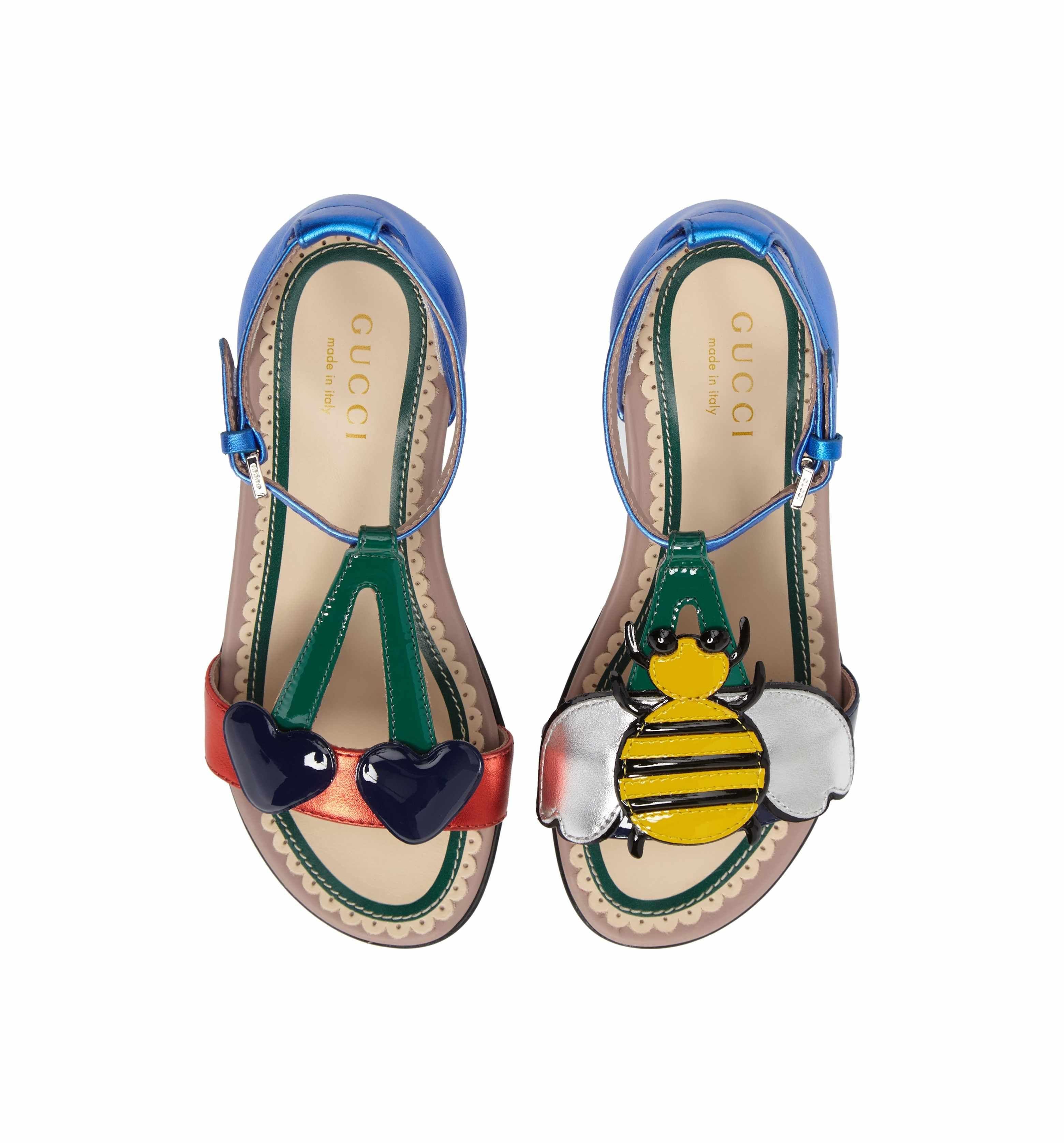 3e48155b Gucci Bee Cerise Sandal (Toddler & Little Kid)   Anime   Kids ...