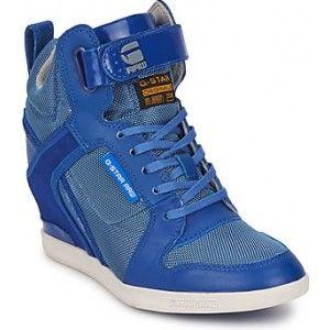 f38facd65a4 Ik vond dit op Beslist.nl: G-Star Raw BELLE WEDGE MIX Hoge sneakers ...