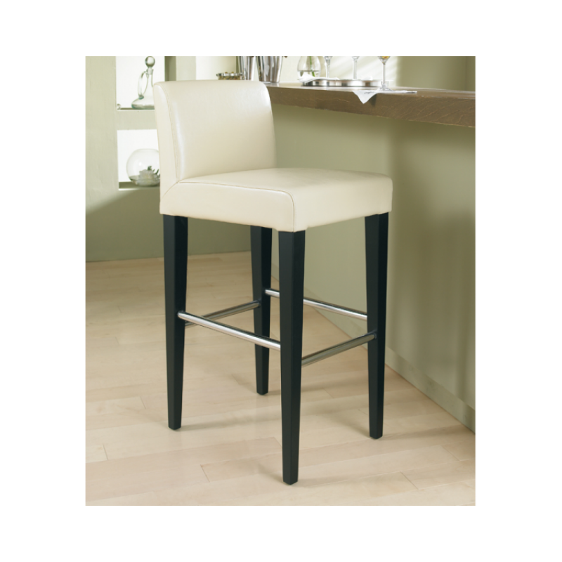 Leather Stools With Back Leather Counter Stool Low Back Bar Ht