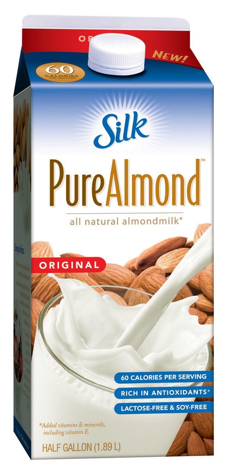 1 00 Off Any Silk Pure Almond Light Half Gallon Silk Almond Milk Milk Coupons Silk Milk