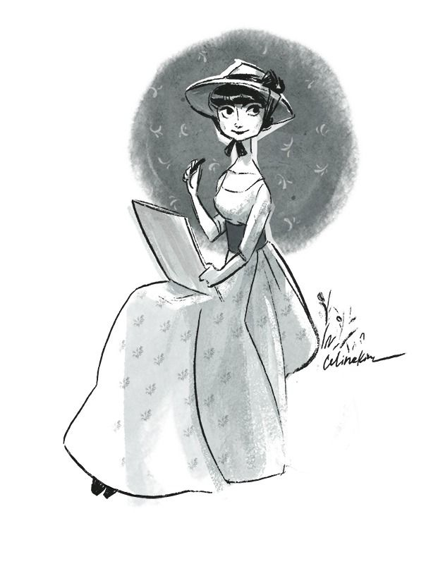 Felt like drawing Audrey Hepburn again ★ || CHARACTER DESIGN REFERENCES (www.facebook.com/CharacterDesignReferences & pinterest.com/characterdesigh) • Do you love Character Design? Join the Character Design Challenge! (link→ www.facebook.com/groups/CharacterDesignChallenge) Share your unique vision of a theme every month, promote your art, learn and make new friends in a community of over 16.000 artists who share your same passion! || ★