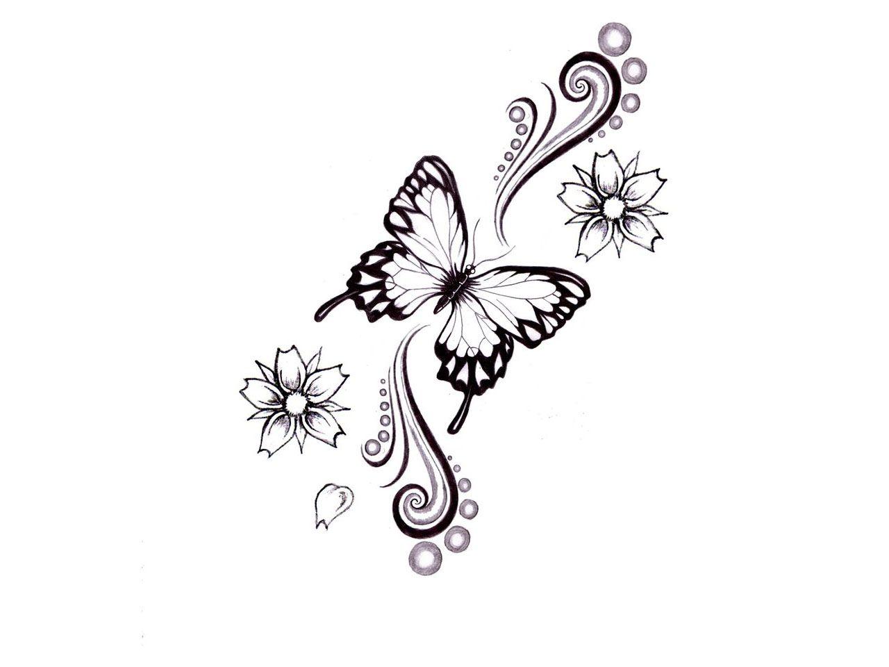 butterfly tattoo | My Style | Pinterest | Tattoo ideen ...