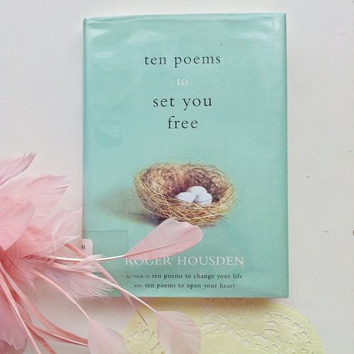 Ten Poems to Set You Free Day 51-#gatheringstyle Trip to library yields treat for momma too | Flickr - Photo Sharing!