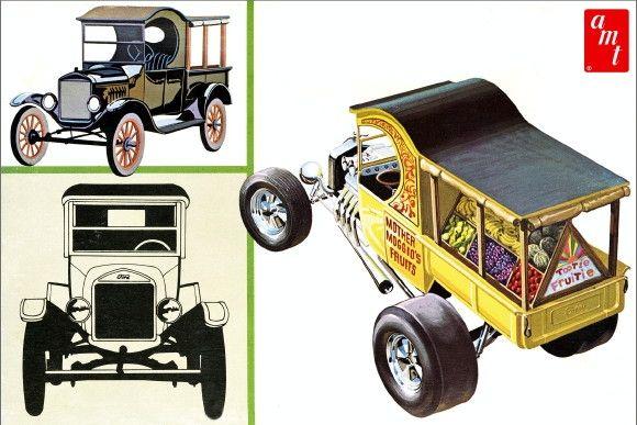 1925 Ford T Fruit Wagon 1 25 Fs Concept Car Design Model Cars Kits Car Model