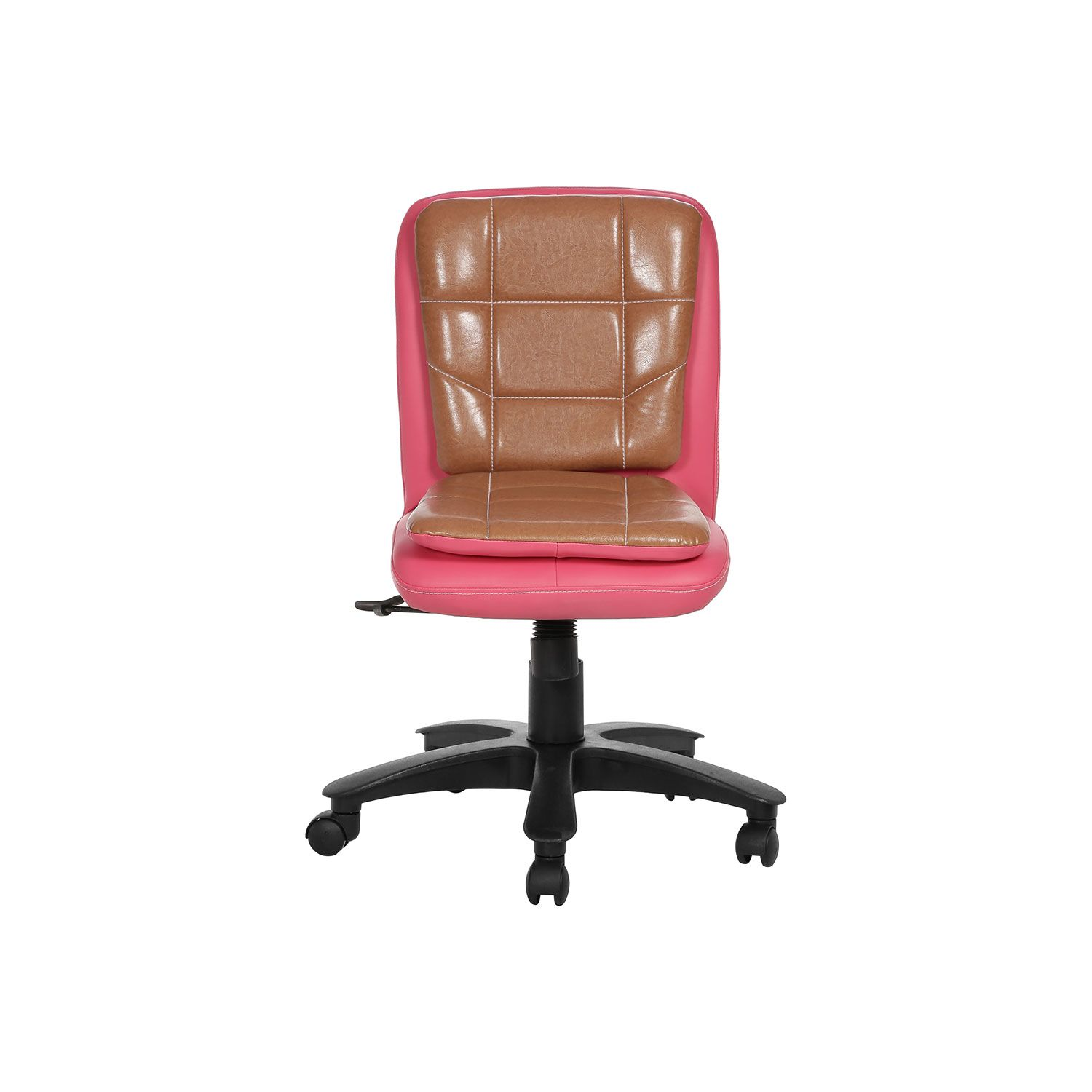 libranejar lb workstaion chair pink and copper office furniture online