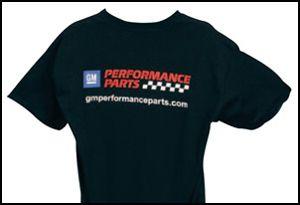 Proformparts Com Gm Performance Parts T Shirt Black Performance Parts Performance T Shirt
