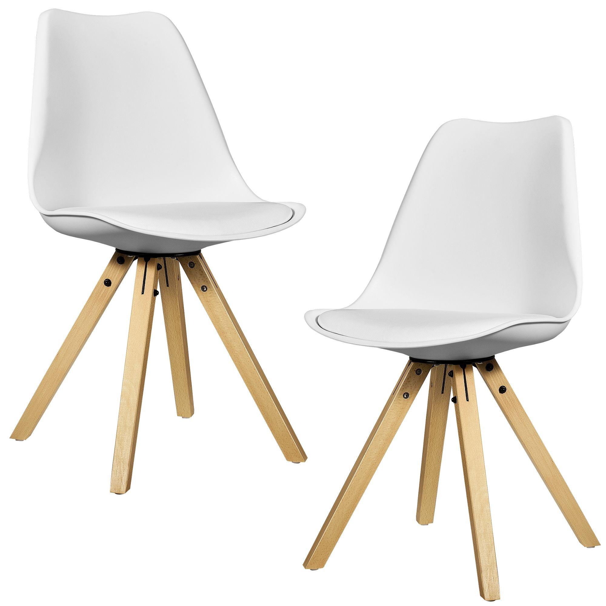 Design Stuehle en casa 2x design stuehle esszimmer stuhl holz kunststoff kunst