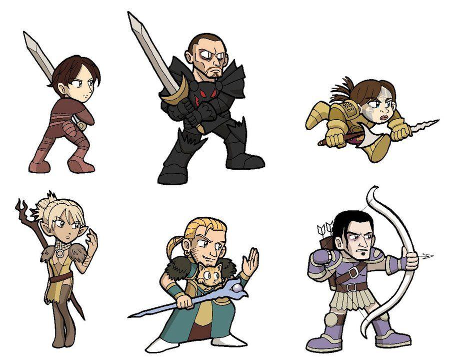 Da New Party Members By Sandikarakhim On Deviantart Dragon Age Origins Dragon Age Dragon Age 3