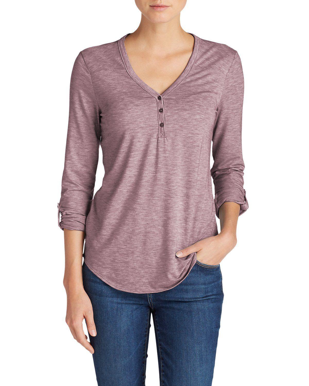 db6d4c79bd708 Women s Mercer Knit Henley Shirt in 2019