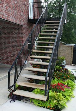 Best Open Riser Concrete Stair Treads Concrete Stairs 640 x 480