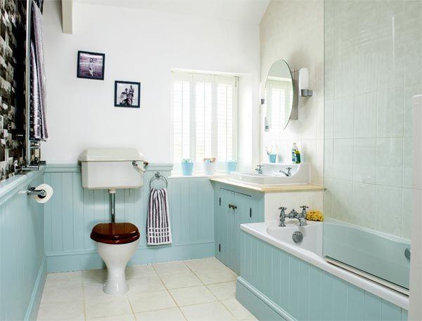 A Seaside Bathroom Redesign Seaside Bathroom Coastal Bathroom