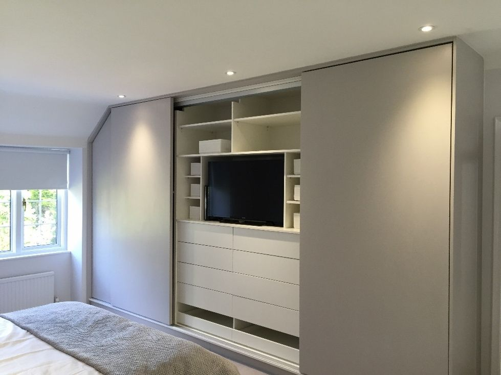 Image Result For Built In Wardrobe With Tv Space Built In