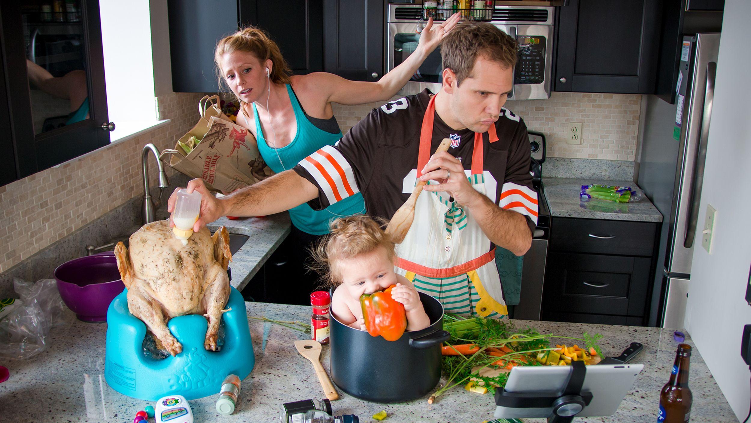 Картинка про семью смешные, времен
