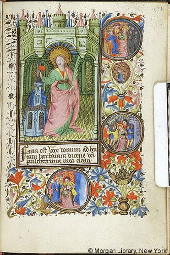 Book of Hours, MS M.64 fol. 132r - Images from Medieval and Renaissance Manuscripts - The Morgan Library & Museum