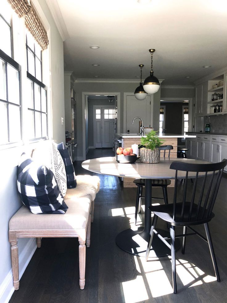 Cool How To Style Your Kitchen Like A Pro Home Tour Black Ocoug Best Dining Table And Chair Ideas Images Ocougorg