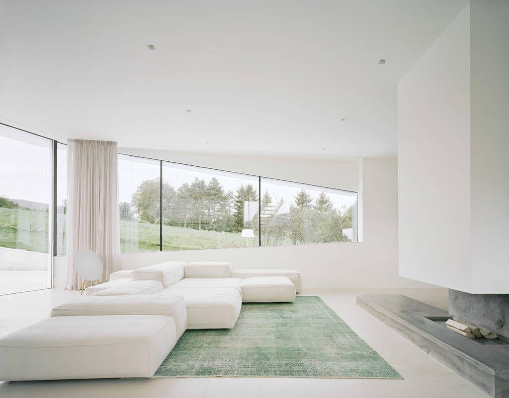 Charmant Moderne Wohnzimmer Bilder: Villa Freundorf / Österreich