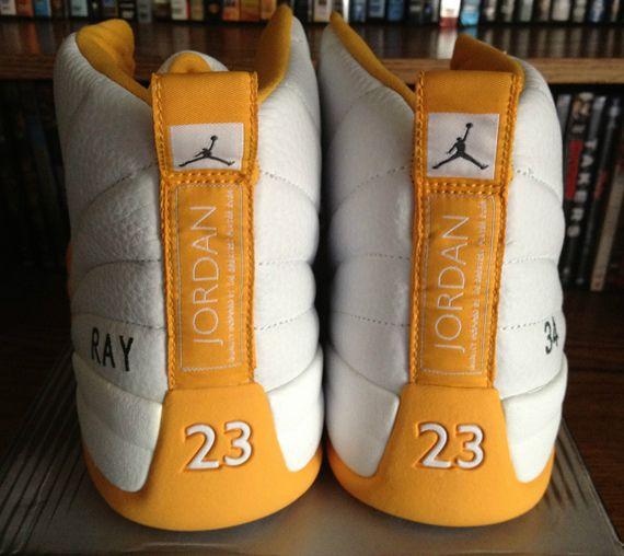 Online 2015 Nike Air Jordan 12 Retro Cheap sale Ray Allen Celtic
