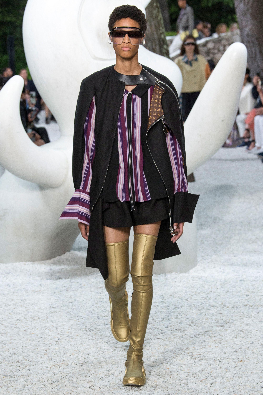 28a59fa9176e Louis Vuitton in 2019 | резорт полоска | Весна, Последние тенденции ...