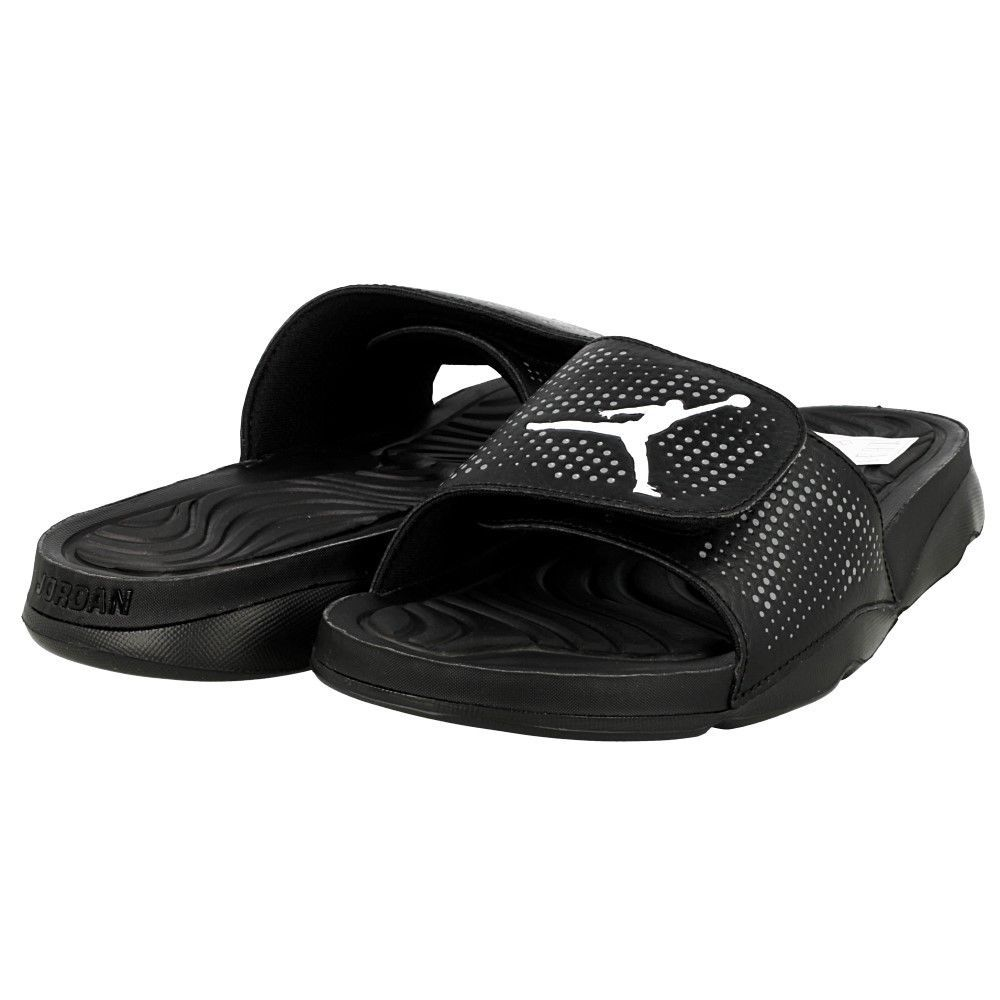 25b75bf0f037c5 NIKE JORDAN HYDRO 5 SLIDES SANDALS FLIP FLOPS NEW MEN 10 black 820257-010   Nike  SLIDESSANDALS