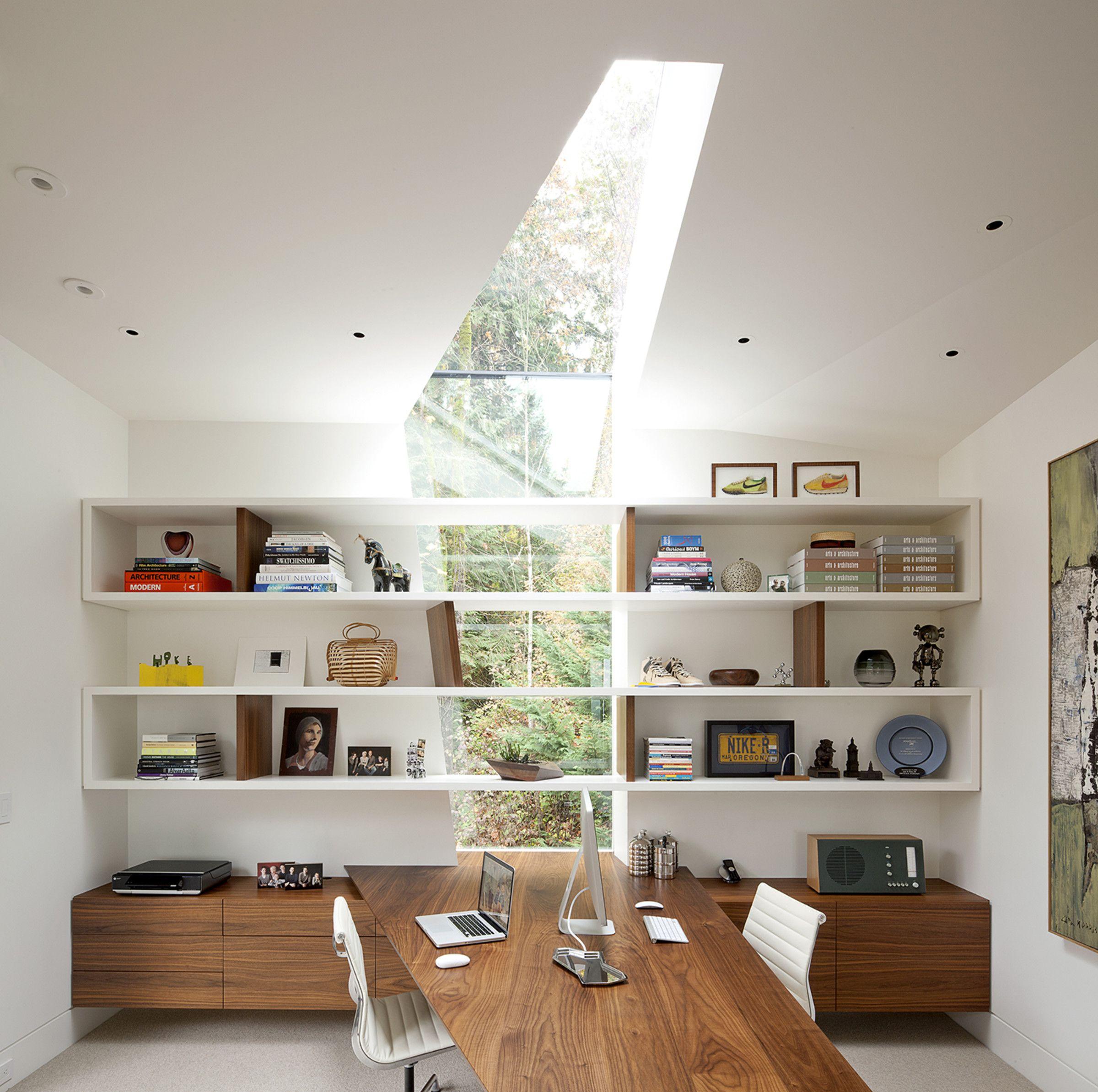 Impressive Home Office In The Hoke House In Portland Oregon