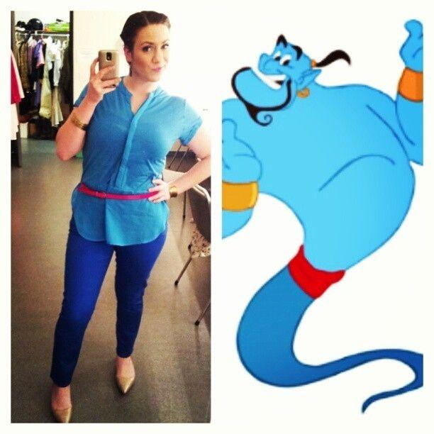 Genie, Aladdin | 39 Stylish People Who Are Secretly Disney Characters