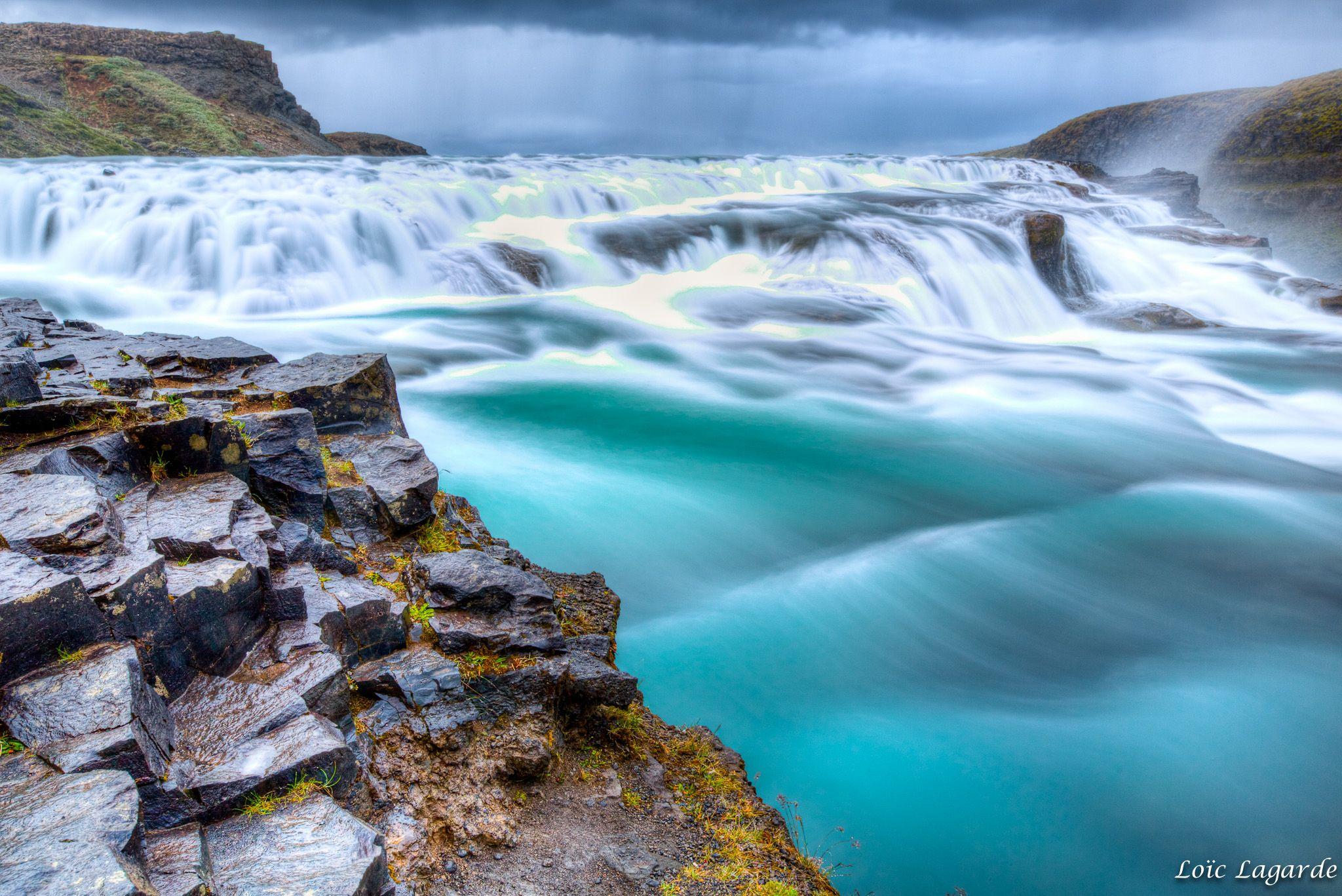 Gullfoss waterfall | by Loïc Lagarde
